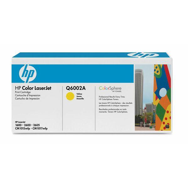 HP Q6002A 124A Yellow Orginalni toner