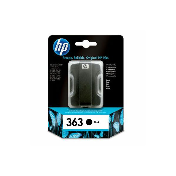 HP C8721EE No.363 Black Orginalna tinta