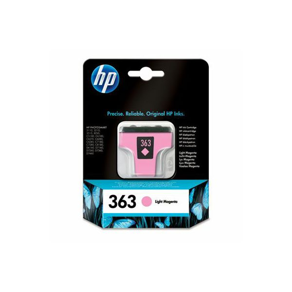HP C8775EE No.363 Light Magenta Orginalna tinta