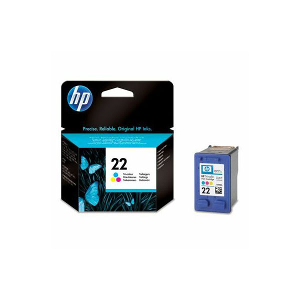 HP C9352AE No.22 Tri-Color Orginalna tinta