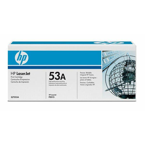 HP Q7553A 53A Black Orginalni toner