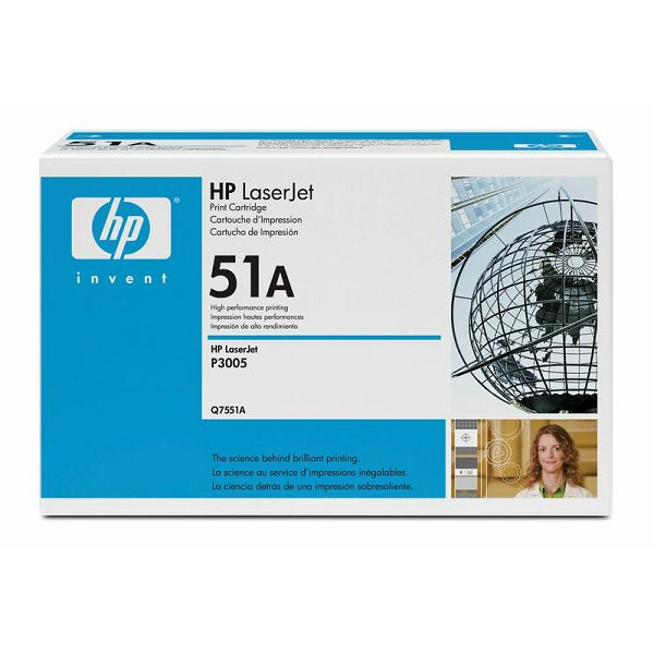 HP Q7551A 51A Black Orginalni toner