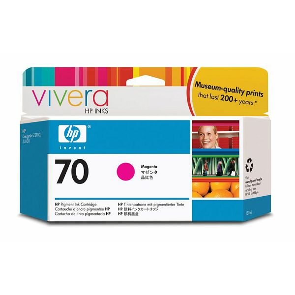 HP C9453A No.70 Magenta Orginalna tinta