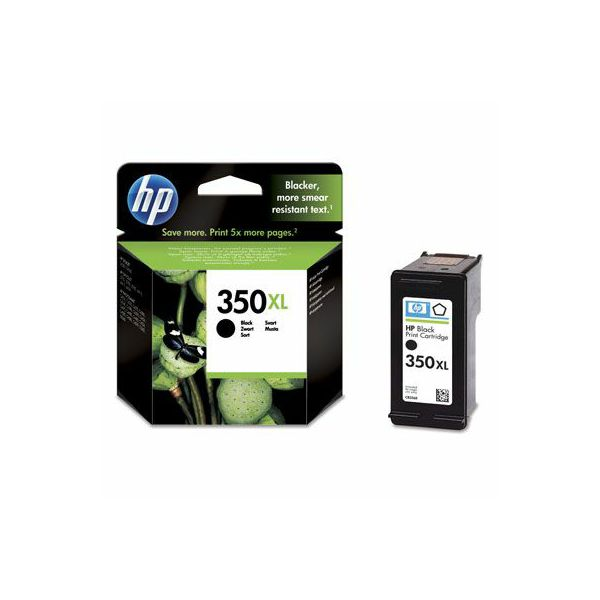 HP CB336EE No.350XL Black Orginalna tinta