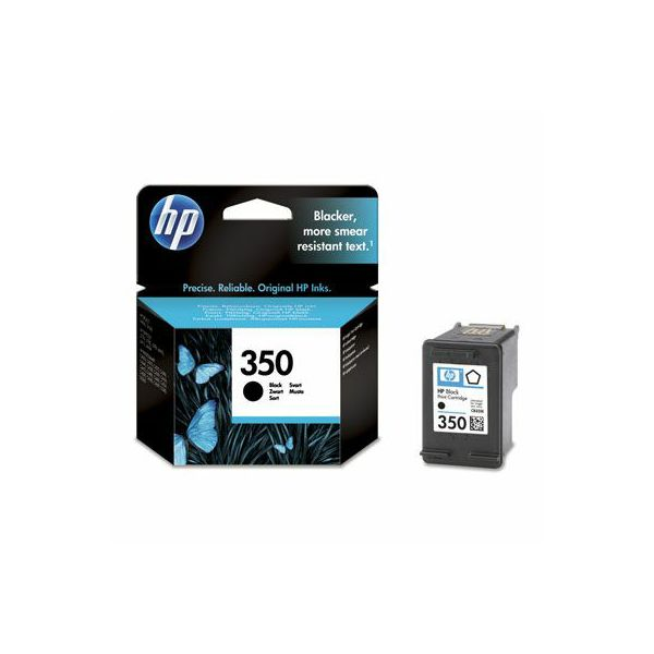 HP CB335EE No.350 Black Orginalna tinta