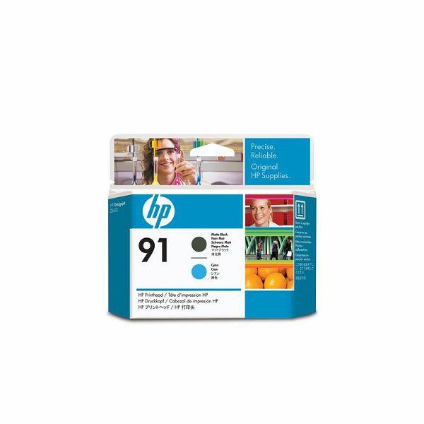 HP C9460A No.91 Matte Black/Cyan Orginalna glava