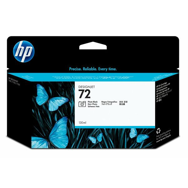 HP C9370A No.72 XL  Photo Black Orginalna tinta