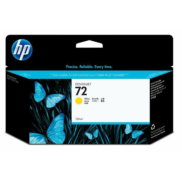 HP C9373A No.72 XL Yellow Orginalna tinta
