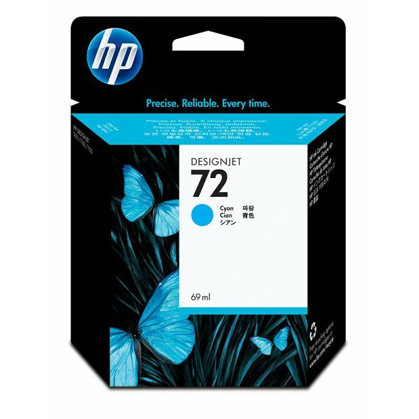 HP C9398A No.72 Cyan Orginalna tinta