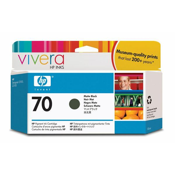 HP C9448A No.70 Matte Black Orginalna tinta