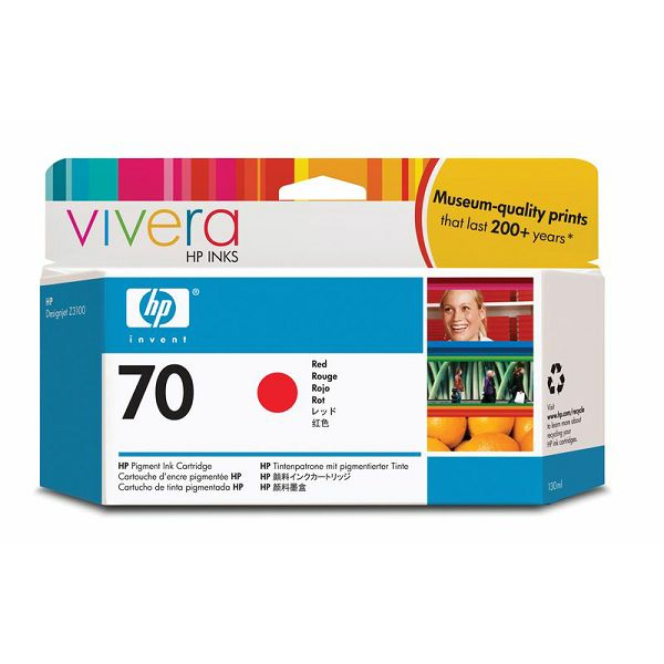 HP C9456A No.70 Red Orginalna tinta