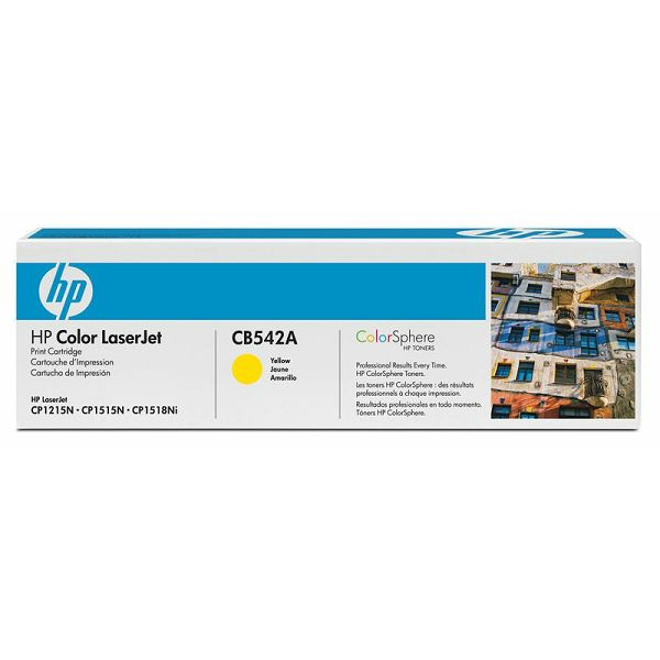 HP CB542A 125A Yellow Orginalni toner