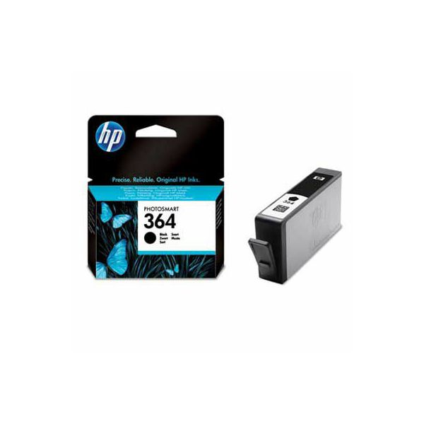 HP CB316EE No.364 Black Orginalna tinta