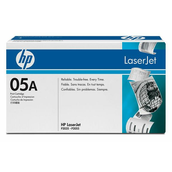 HP CE505A 05A Black Orginalni toner