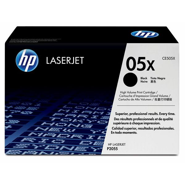 HP CE505X 05X Black Orginalni toner