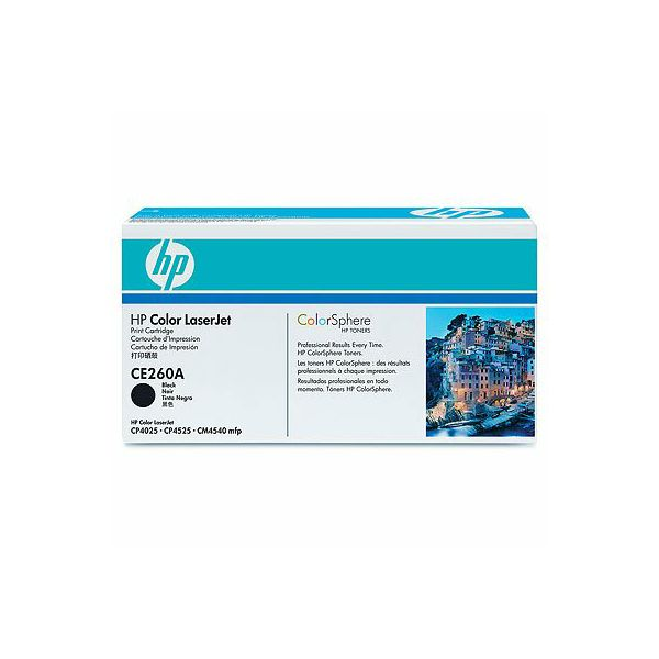 HP CE260A 647A Black Orginalni toner