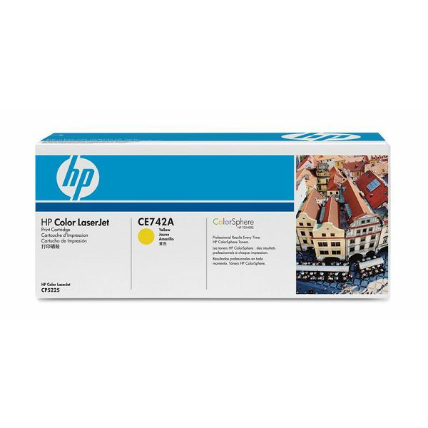 HP CE742A 307A Yellow Orginalni toner