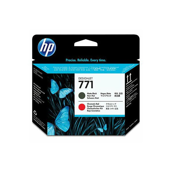 HP CE017A No.771 Matte Black/Chromatic Red Orginalna glava
