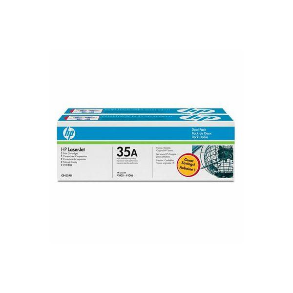HP CB435AD 35AD Orginalni toner, dvostruko pakiranje