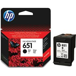 HP C2P10AE No.651 Black Orginalna tinta