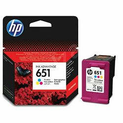 HP C2P11AE No.651 Tri-Color Orginalna tinta