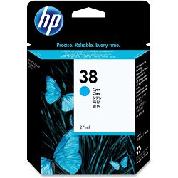 HP C9415A No.38 Cyan Originalna tinta