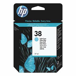 HP C9418A  No.38 Light Cyan Originalna tinta