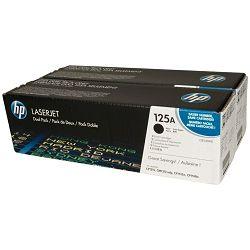 HP CB540AD 125A Black Originalni toner, dvostruko pakiranje