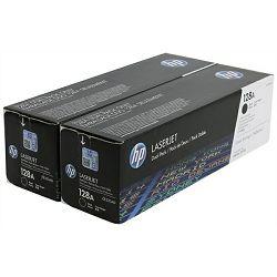 HP CE320AD 128A Black Originalni toner, dvostruko pakiranje