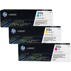 HP CF440AM 312A Cyan/Magenta/Yellow Originalni toneri, trostruko pakiranje