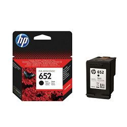 HP F6C25AE No.652 Black Originalna tinta
