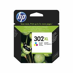 HP F6U67AE No.302XL Tri-Color Originalna tinta