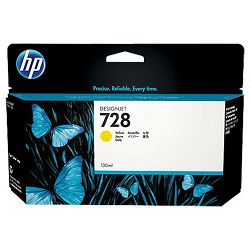 HP F9J65A No.728 Yellow Originalna tinta