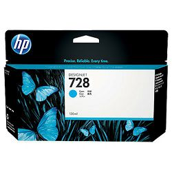 HP F9J67A No.728 Cyan Originalna tinta