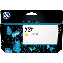 HP F9J78A No.727 Yellow Originalna tinta