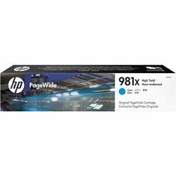 HP L0R09A No.981X Cyan Originalna tinta