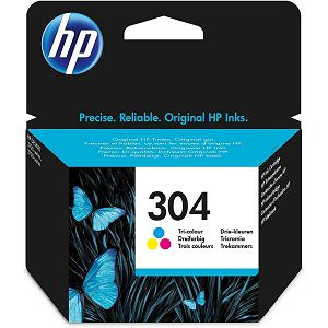 HP N9K05AE No.304 Color Originalna tinta