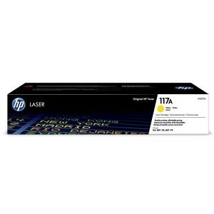 HP W2072A Yellow No.117A originalni toner