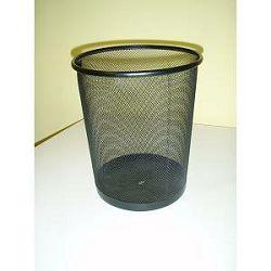 Koš za smeće crni žica L3515