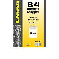 Kuverta B4 vrećica  strip bijela Libro 1/50