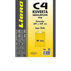 Kuverta C4 vrećica  strip žuta Libro 1/50