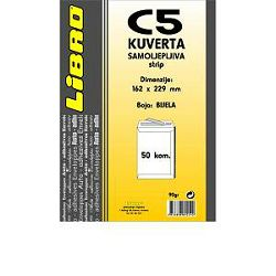 Kuverta C5 vrećica  strip žuta Libro 1/50