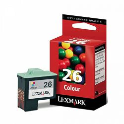 LEXMARK 10N0026E 26 COLOR TINTA