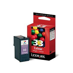 LEXMARK 18CX033E 33 COLOR TINTA