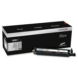 LEXMARK 700D1 70C0D10 BLACK ORGINALNI TONER