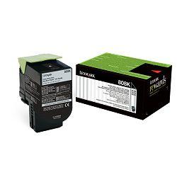 LEXMARK 808K 80C80K0 BLACK ORGINALNI TONER