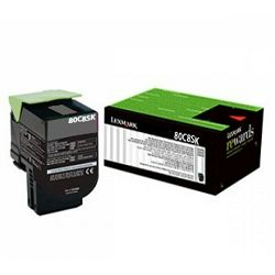 LEXMARK 808SK 80C8SK0 BLACK ORGINALNI TONER