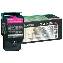 LEXMARK C54x C540H1MG MAGENTA ORGINALNI TONER