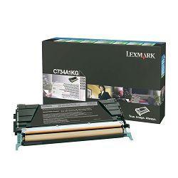 LEXMARK C73x C734A1KG BLACK ORGINALNI TONER