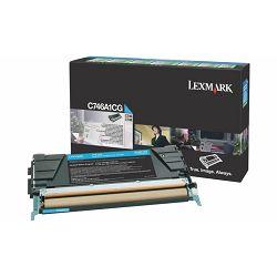 LEXMARK C746 C746A1CG CYAN ORGINALNI TONER